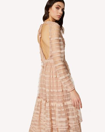 REDValentino TR0VA11N51D 377 Long and midi dresses Woman e