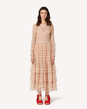 REDValentino TR0VA11N51D 377 Long and midi dresses Woman f