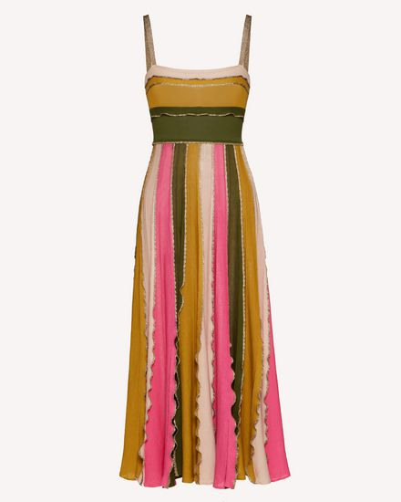REDValentino Long and midi dresses Woman TR0KDB49531 HR9  a