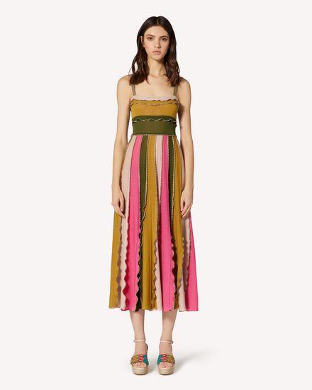 REDValentino Langes und mittellanges Kleid Dame TR0KDB49531 HR9  f