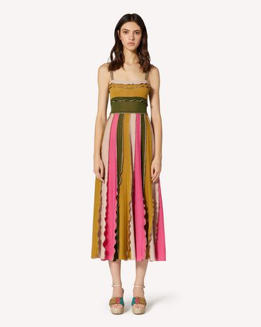 REDValentino TR0KDB49531 HR9  Long and midi dresses Woman f