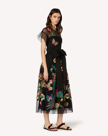 REDValentino TR0VA11U51S 0NO  Long and midi dresses Woman d
