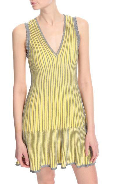 M MISSONI Dress Yellow Woman - Front
