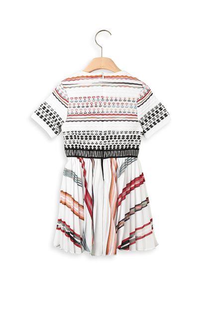 MISSONI KIDS Kleid Weiß Dame - Vorderseite
