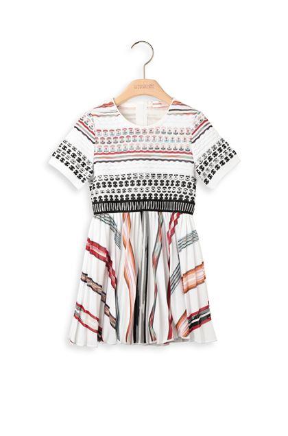 MISSONI KIDS Kleid Weiß Dame - Rückseite