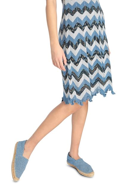 M MISSONI Dress Pastel blue Woman - Front