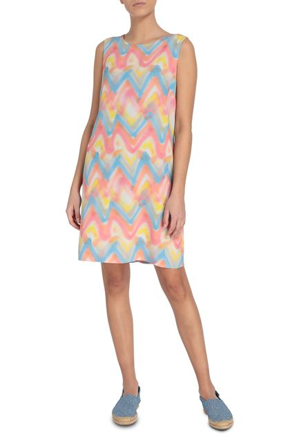 M MISSONI Dress Salmon pink Woman - Back