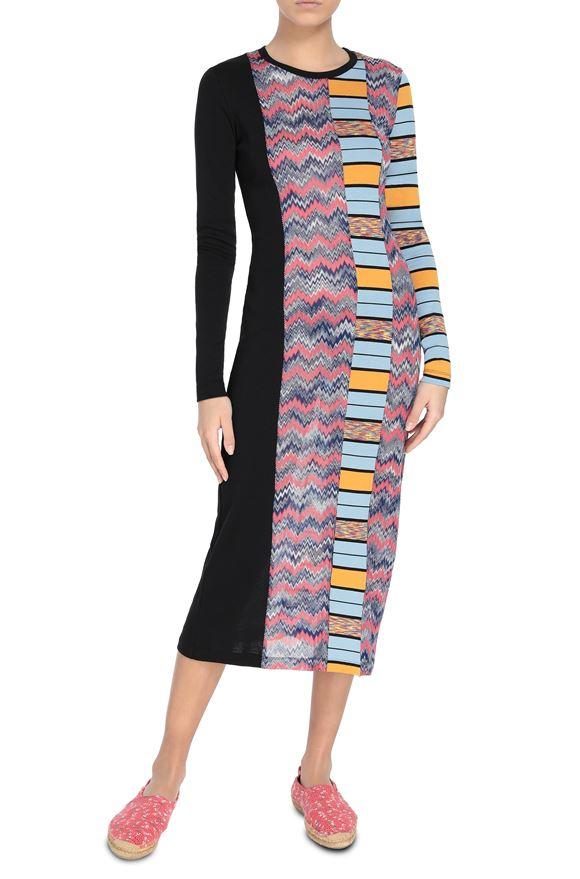M MISSONI Long dress Woman, Frontal view