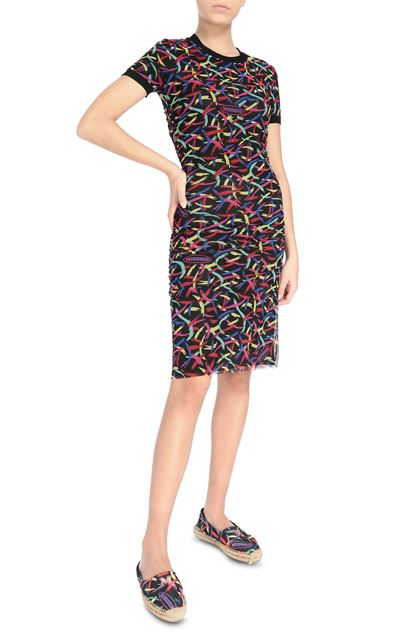 M MISSONI Dress Black Woman - Back