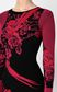 JUST CAVALLI Dress with Moving-Roses print Dress Woman e