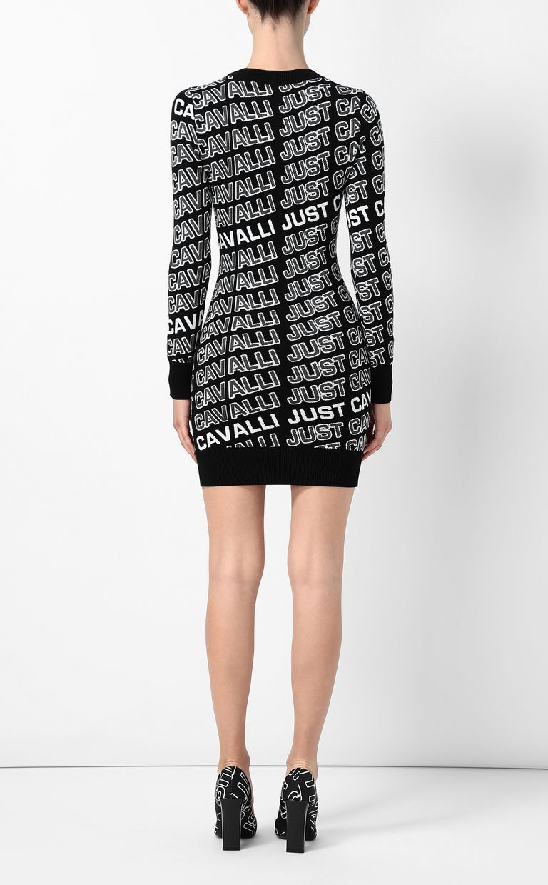 JUST CAVALLI Dress with logo Dress Woman a