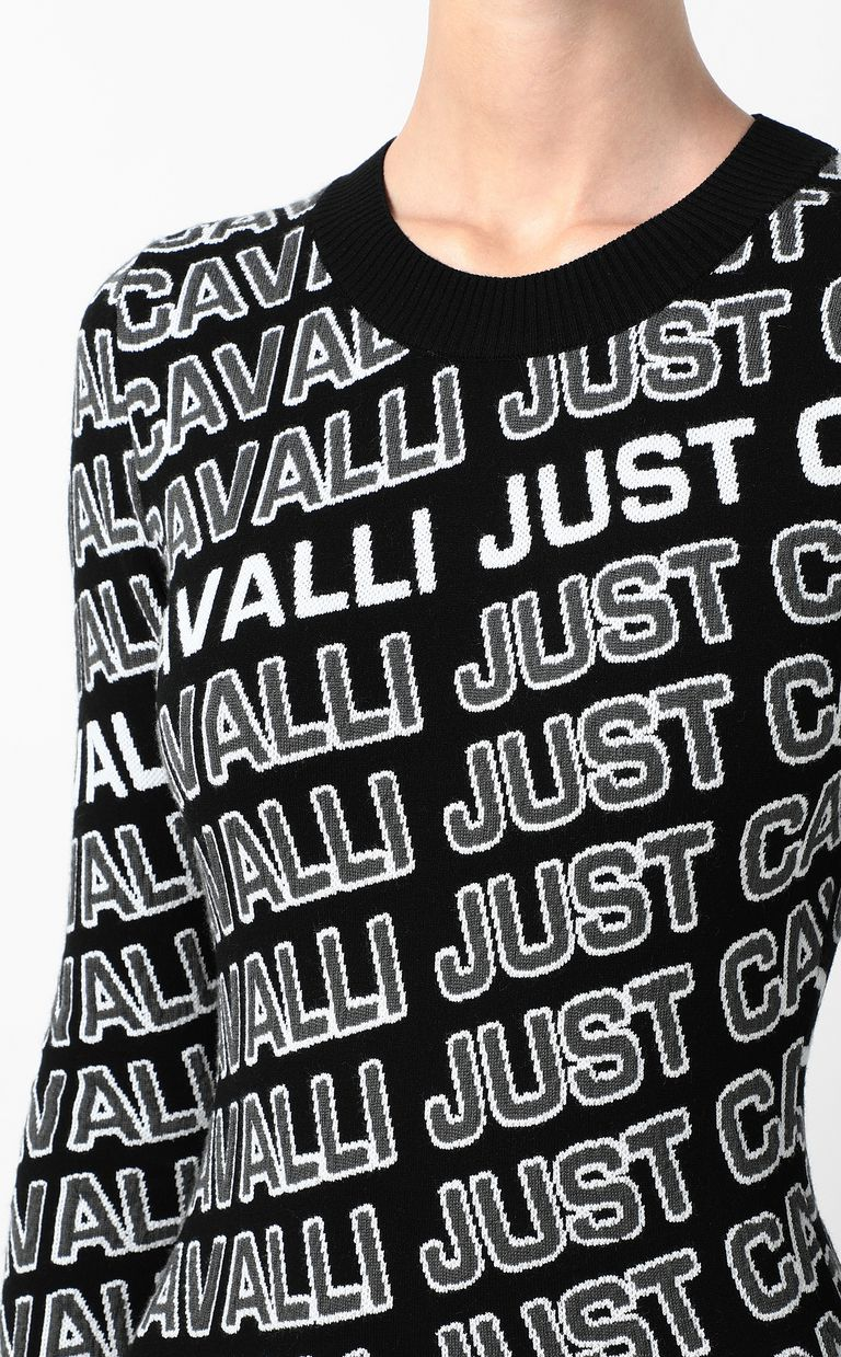 JUST CAVALLI Dress with logo Dress Woman e