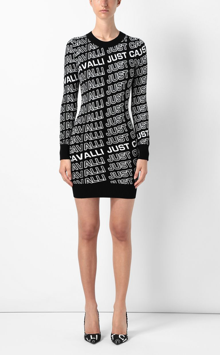JUST CAVALLI Dress with logo Dress Woman r