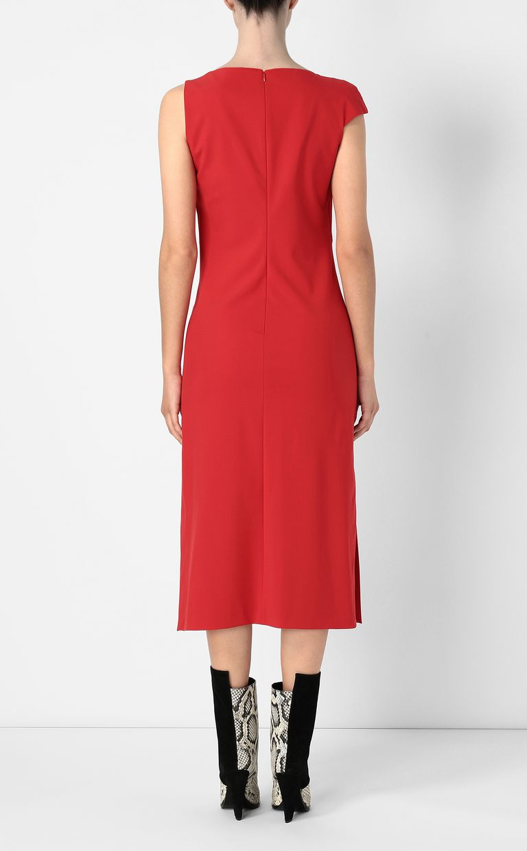 JUST CAVALLI Dress with an asymmetrical neckline Dress Woman a