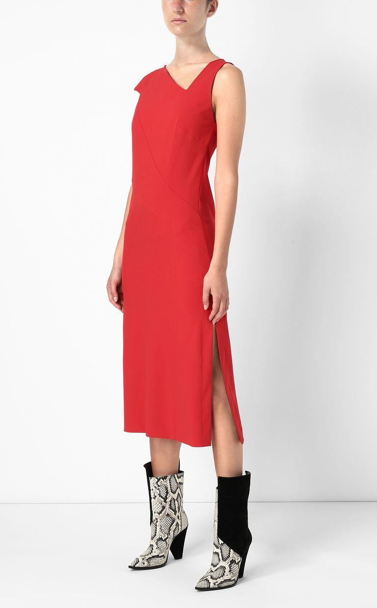 JUST CAVALLI Dress with an asymmetrical neckline Dress Woman d