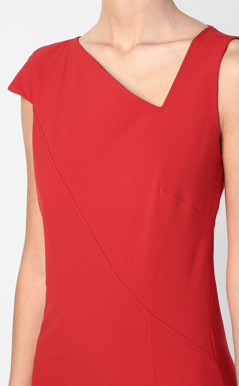JUST CAVALLI Dress with an asymmetrical neckline Dress Woman e
