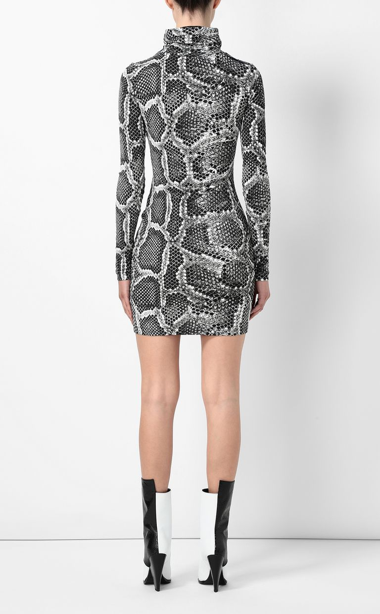 JUST CAVALLI Dress with Skin-Python print Dress Woman a