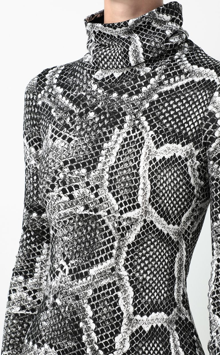 JUST CAVALLI Dress with Skin-Python print Dress Woman e