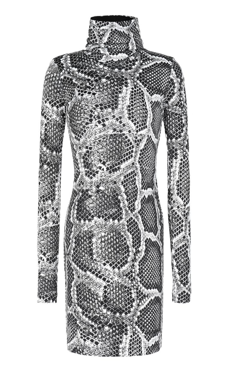 JUST CAVALLI Dress with Skin-Python print Dress Woman f