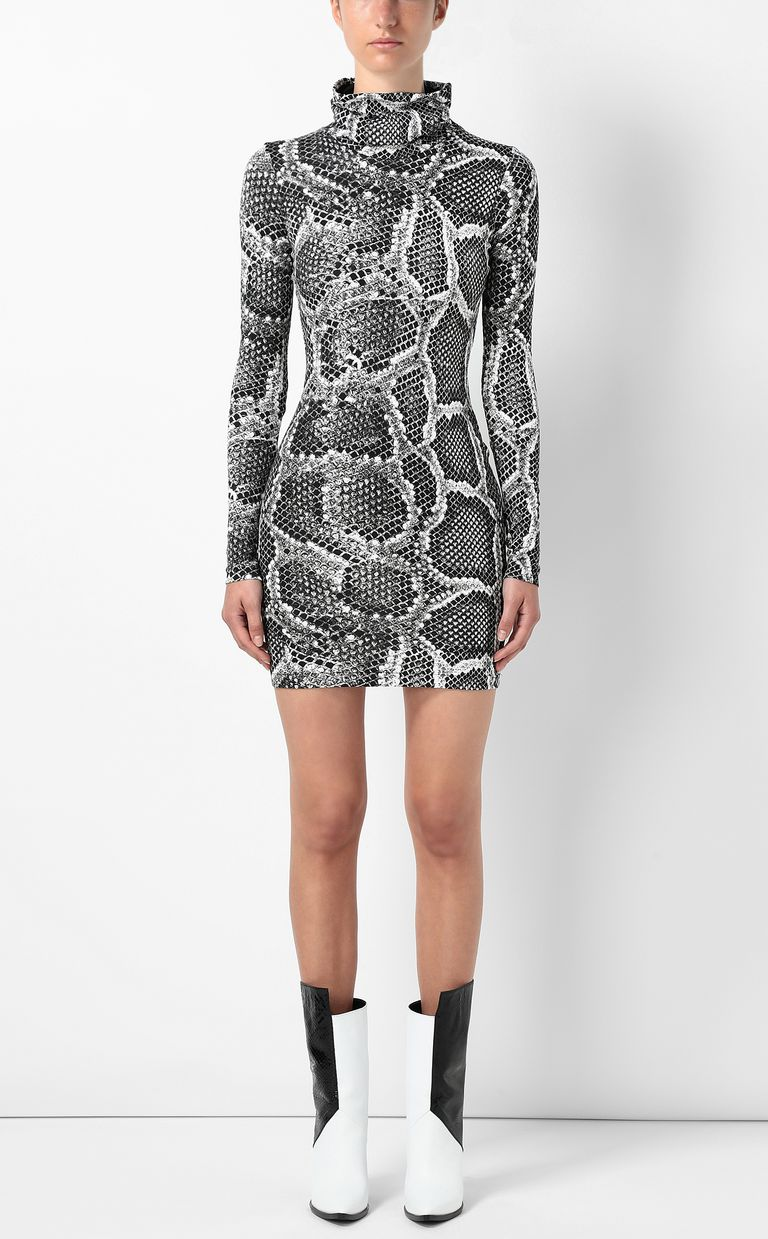 JUST CAVALLI Dress with Skin-Python print Dress Woman r