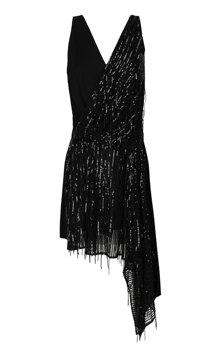 JUST CAVALLI Asymmetrical dress with sequins Dress Woman f