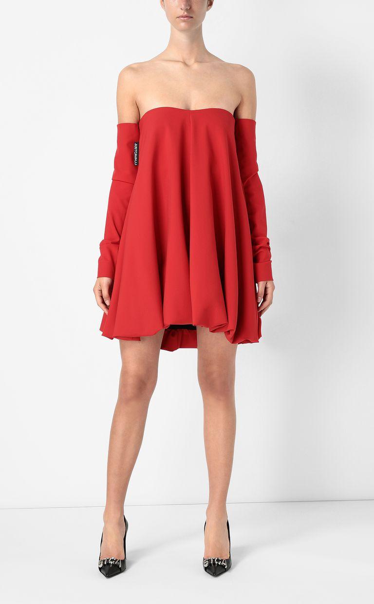 JUST CAVALLI Balloon-effect dress Dress Woman d