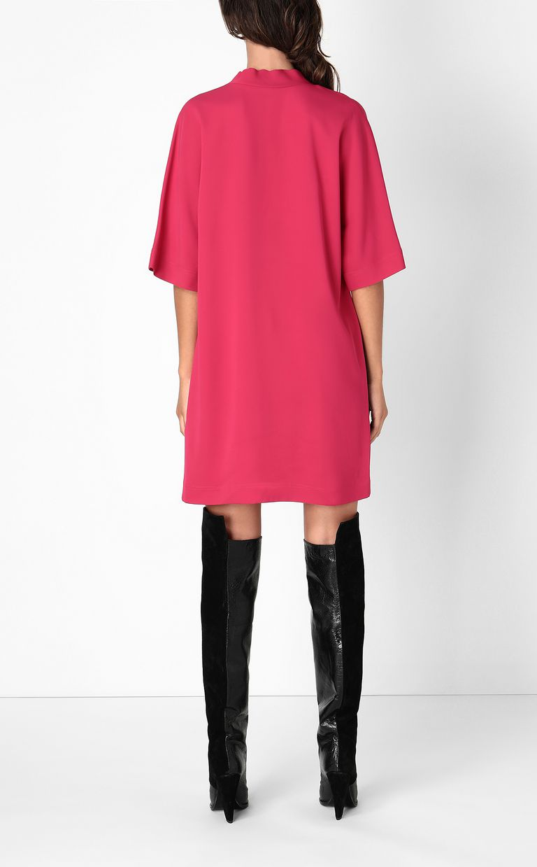 JUST CAVALLI Tunic dress with logo tape Dress Woman a