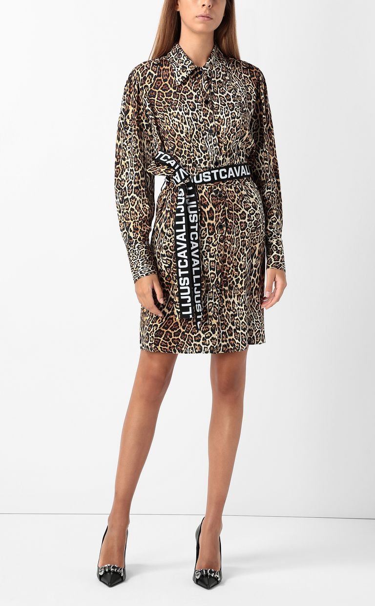 JUST CAVALLI Dancing-Leo-print dress Dress Woman d