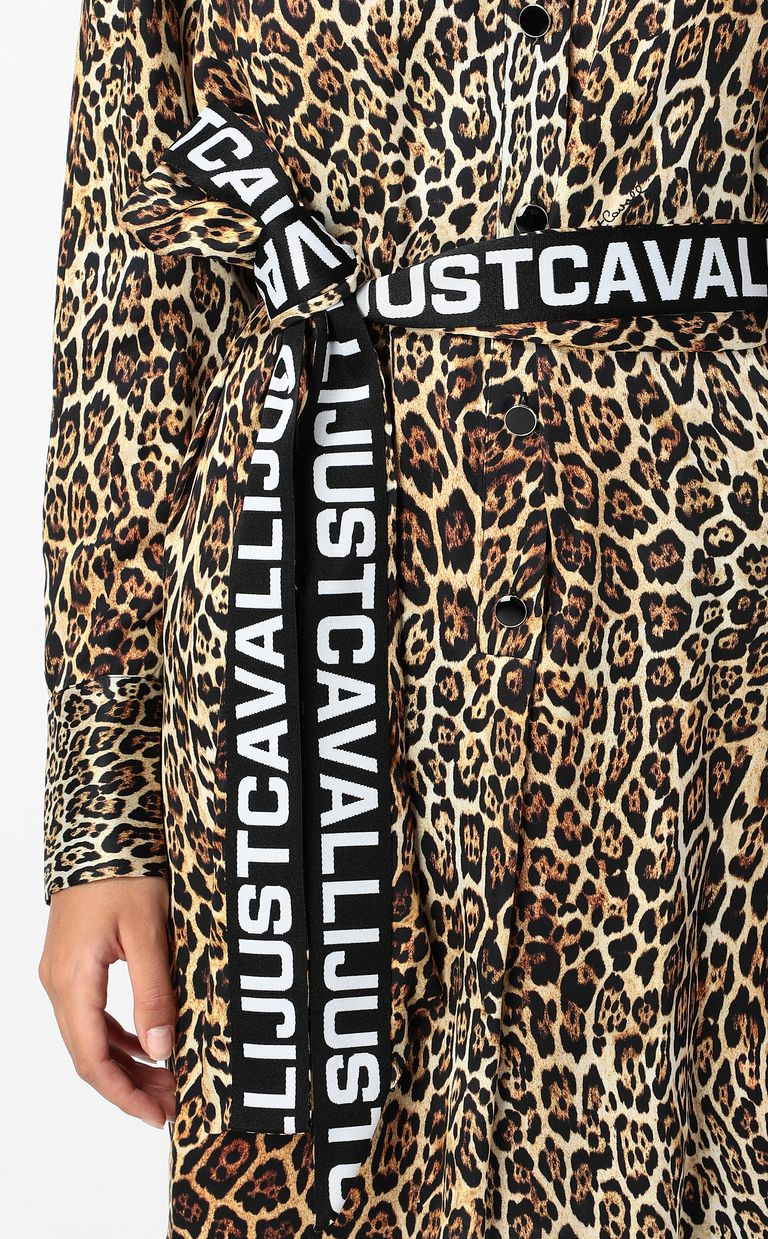 JUST CAVALLI Dancing-Leo-print dress Dress Woman e