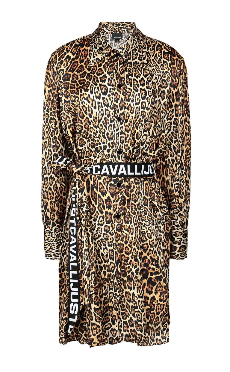 JUST CAVALLI Dancing-Leo-print dress Dress Woman f