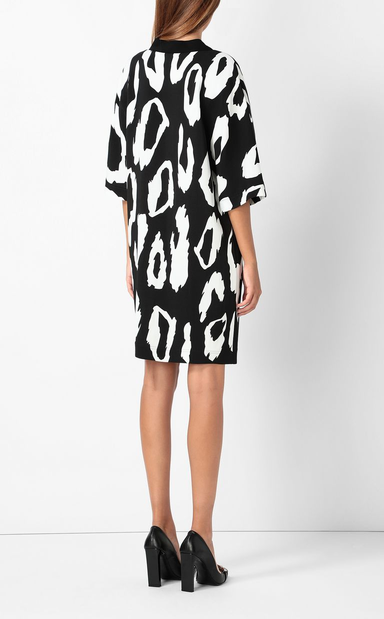 JUST CAVALLI Tunic dress with Macro-Leo print Dress Woman a