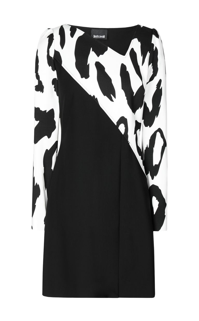 JUST CAVALLI Dress with animal print Dress Woman f