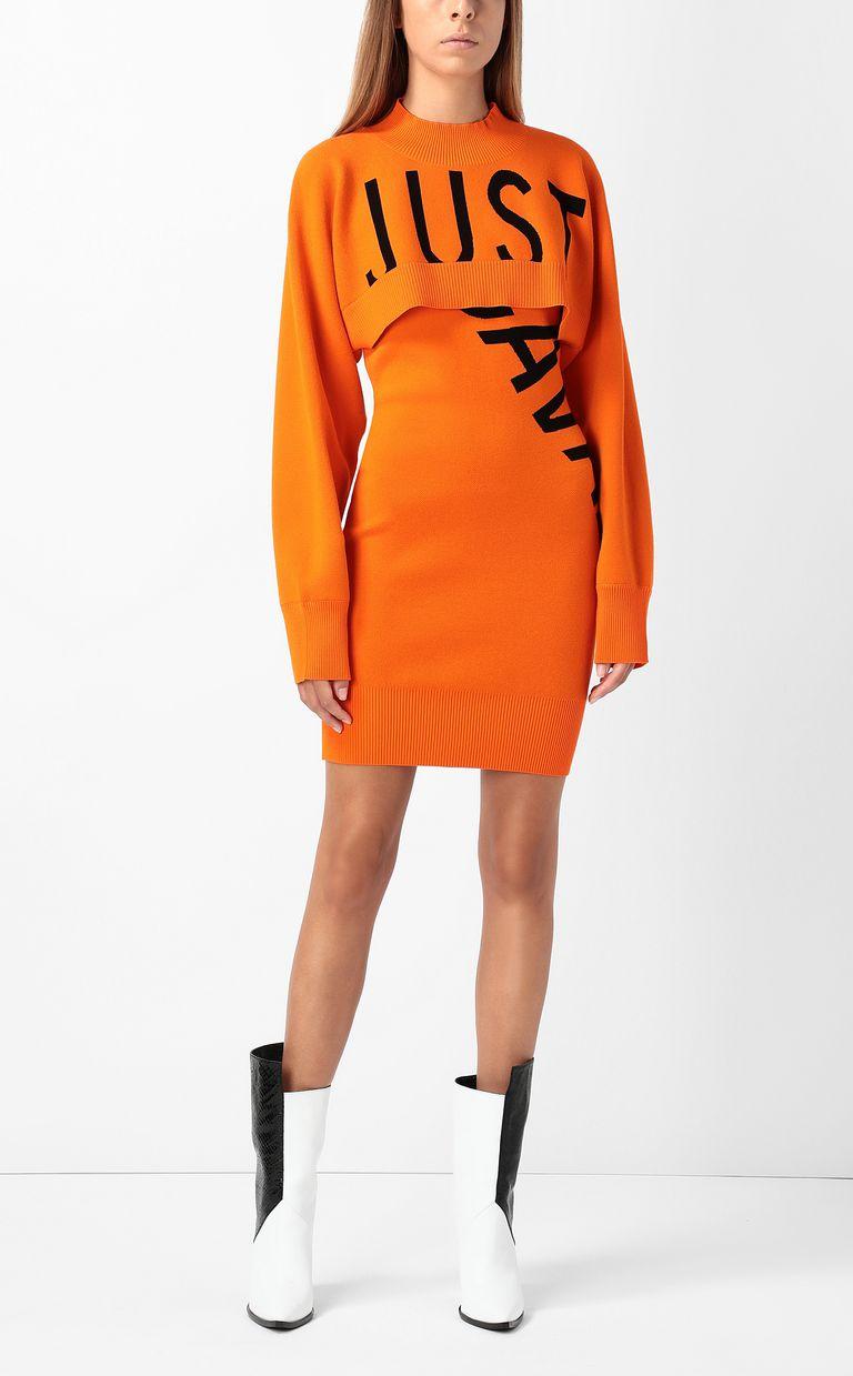 JUST CAVALLI Dress with logo Dress Woman d