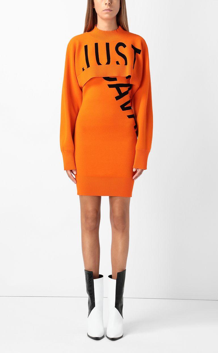 JUST CAVALLI Dress with logo Dress Woman r