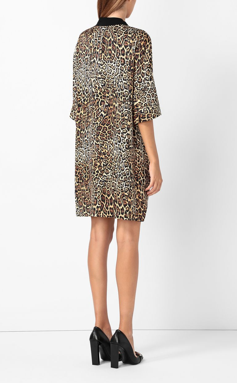 JUST CAVALLI Tunic dress with Dancing-Leo print Dress Woman a