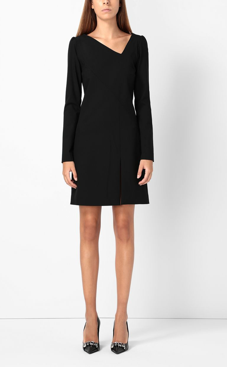 JUST CAVALLI Short dress with asymmetrical neck Dress Woman r