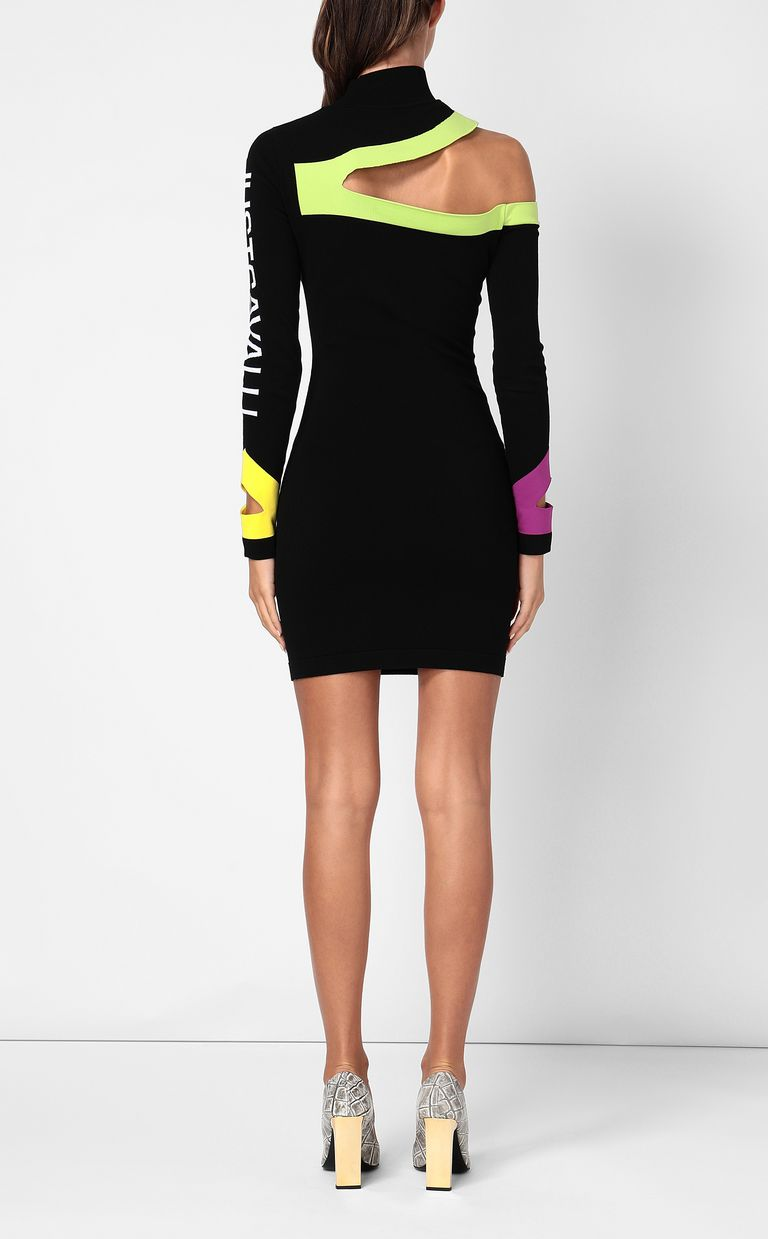 JUST CAVALLI Dress with cut-out detailing Dress Woman a
