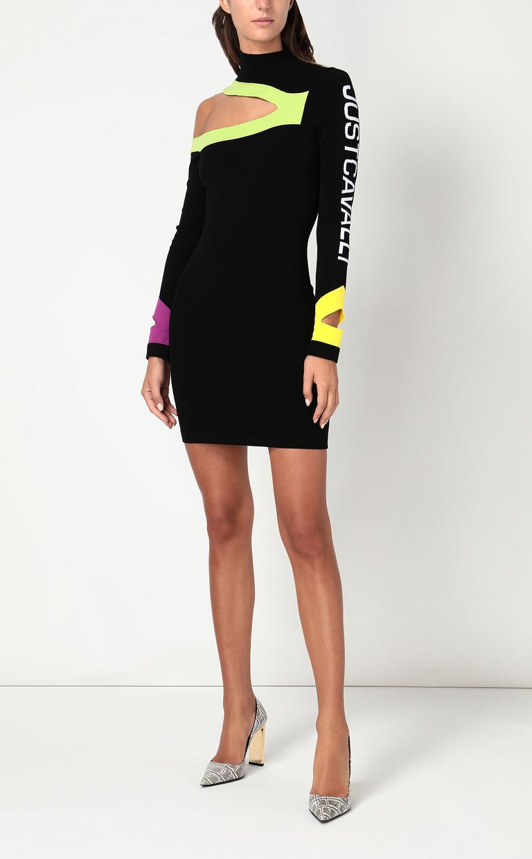 JUST CAVALLI Dress with cut-out detailing Dress Woman d