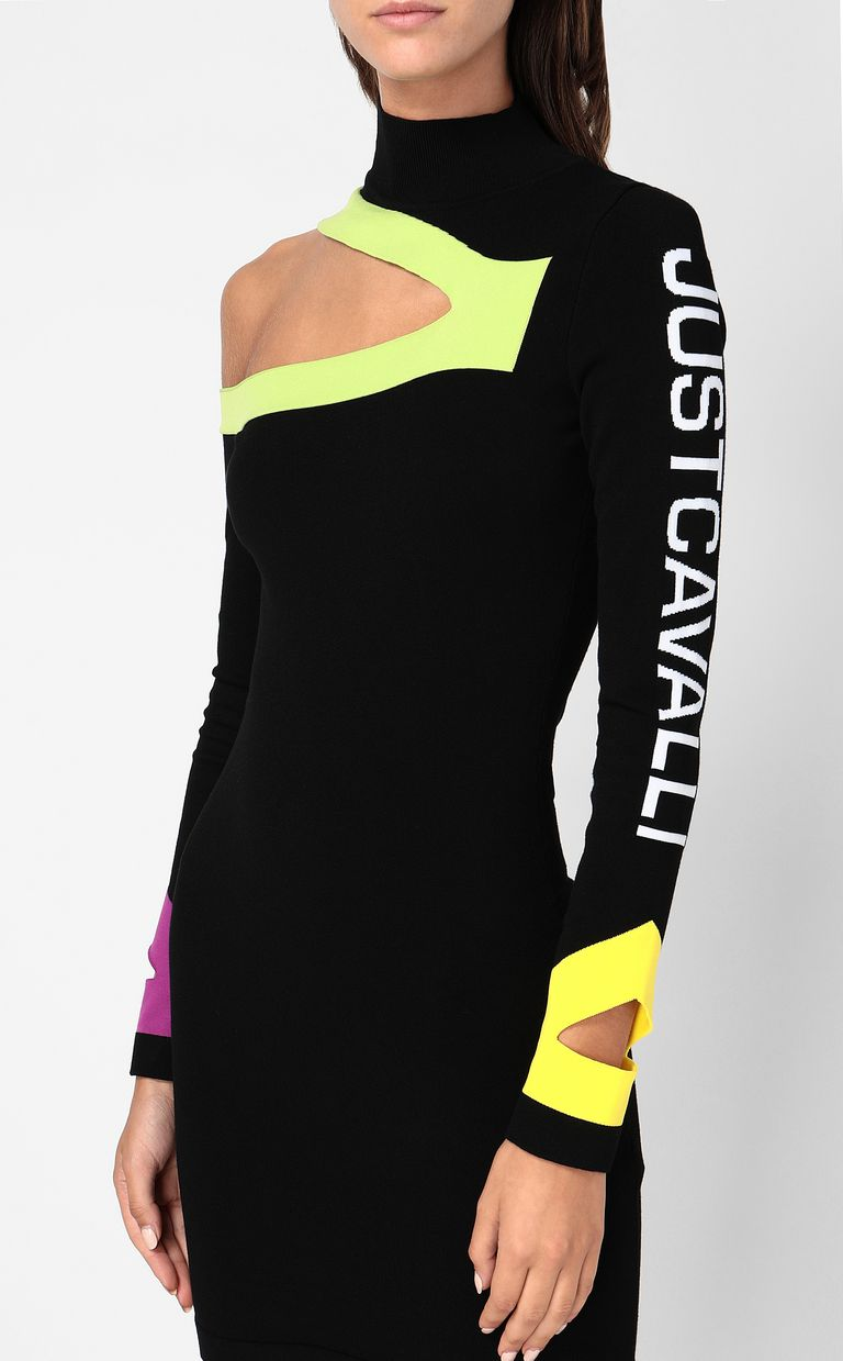 JUST CAVALLI Dress with cut-out detailing Dress Woman e