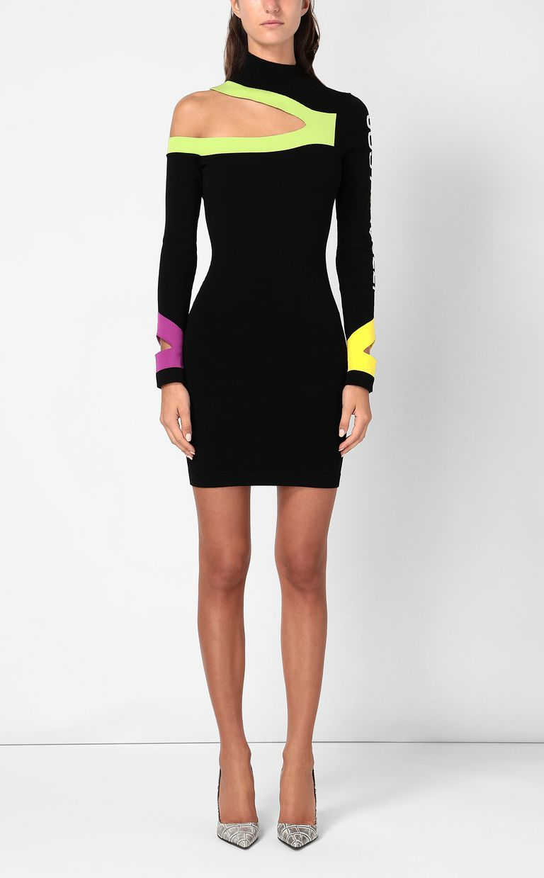 JUST CAVALLI Dress with cut-out detailing Dress Woman r