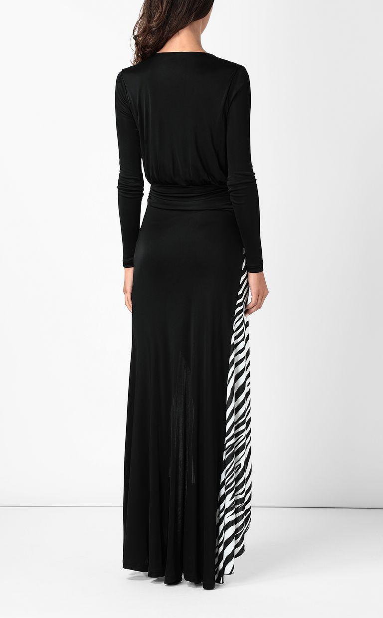 JUST CAVALLI Dress with Animal-Mix print Long dress Woman a