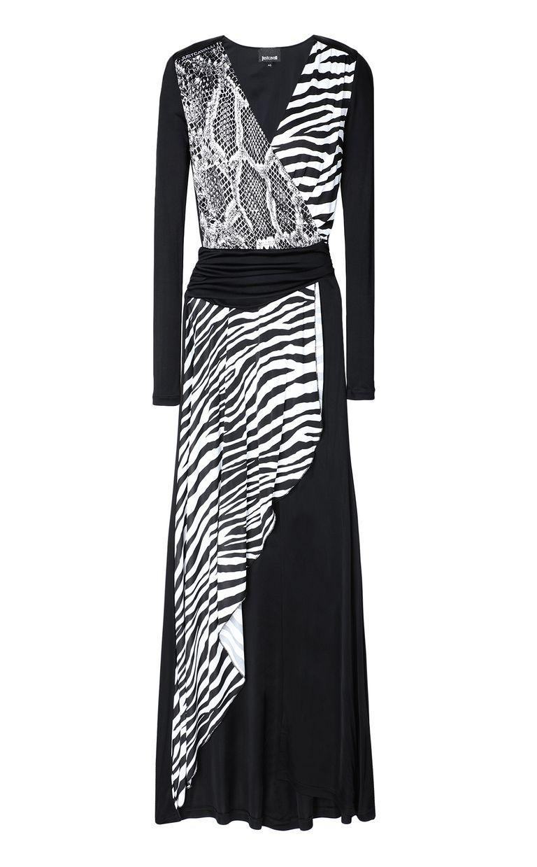 JUST CAVALLI Dress with Animal-Mix print Long dress Woman f