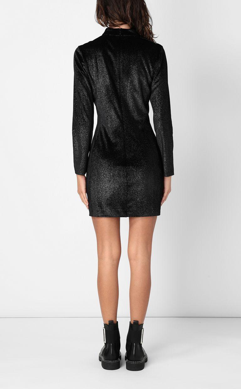 JUST CAVALLI Dress in lurex velvet Dress Woman a