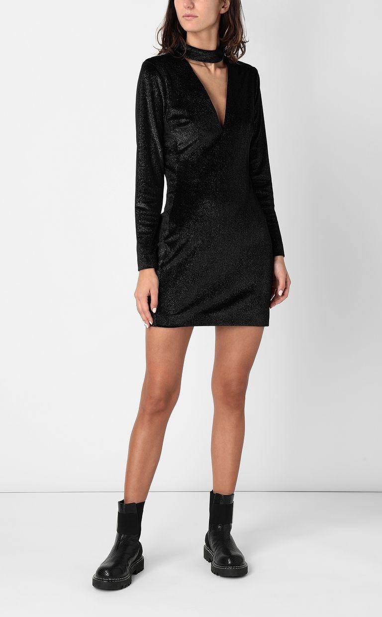 JUST CAVALLI Dress in lurex velvet Dress Woman d