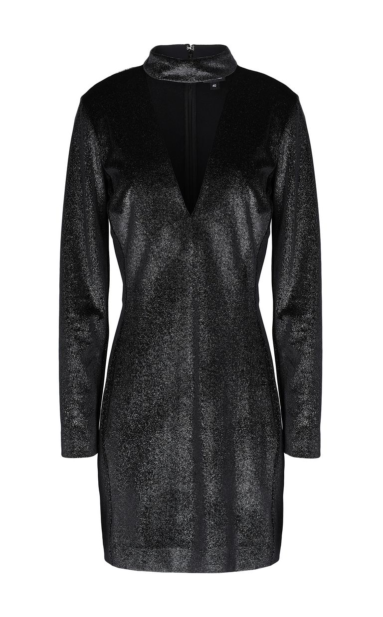 JUST CAVALLI Dress in lurex velvet Dress Woman f