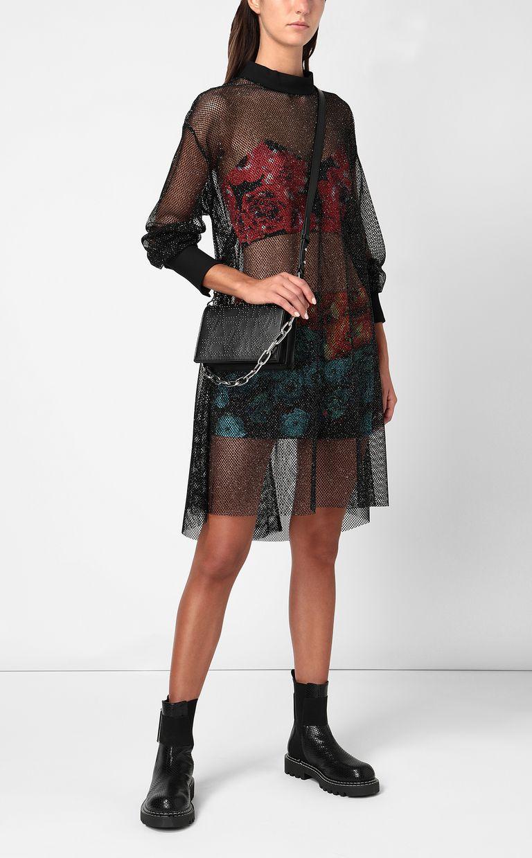 JUST CAVALLI Flower-Glitch short dress Dress Woman d