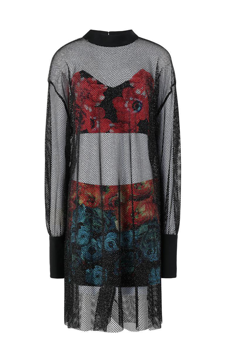 JUST CAVALLI Flower-Glitch short dress Dress Woman f