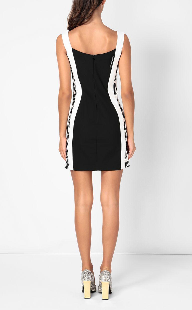 JUST CAVALLI Dress with animal-print detail Dress Woman a