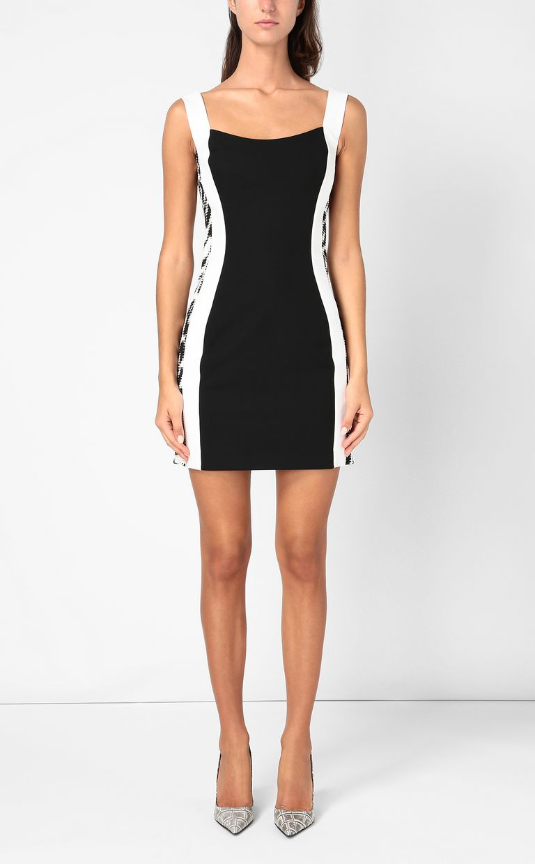 JUST CAVALLI Dress with animal-print detail Dress Woman r