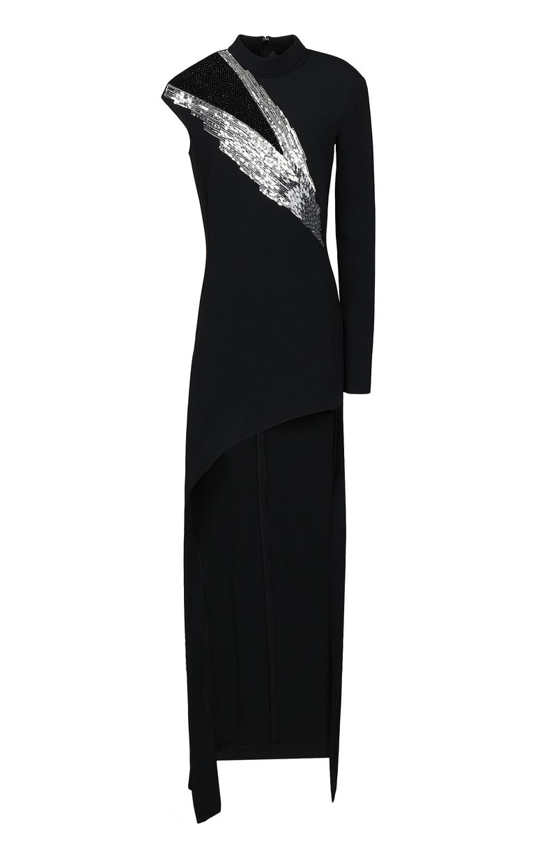 JUST CAVALLI Full-length gown with sequins Dress Woman f